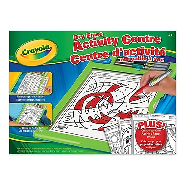 Crayola® Dry-Erase Activity Centre
