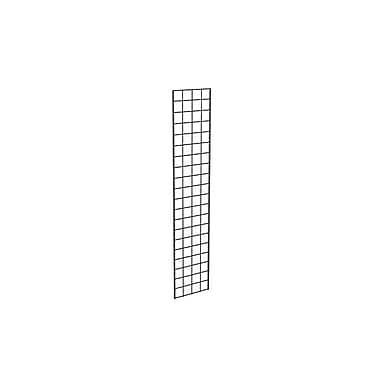 Econoco P3BLK15 Gridwall Panel, Black, 5' x 1'