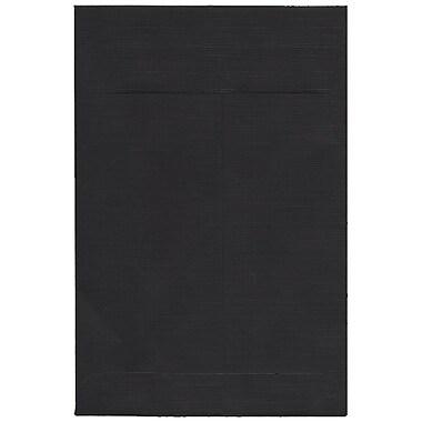 JAM Paper® 6 x 9 Open End Catalog Envelopes, Black, 100/pack (88095)