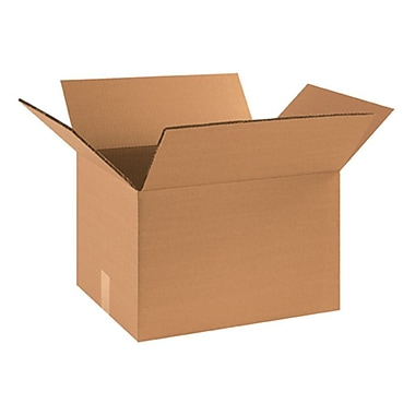 18''x14''x12'' Standard Shipping Box, 275#/ECT, 15/Bundle (HD181412DW)