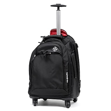 Samsonite MVS Spinner Backpack, Black