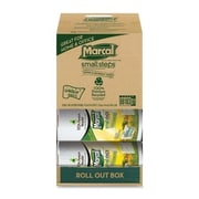 Marcal® 100% Recycled Perforated U-Size-It Giant Roll Towel, 2-Ply, 140 Sheets/Roll, 12 Rolls/Case (6183)