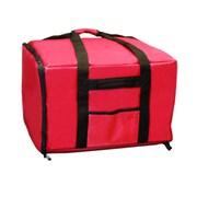Update International PIB-2013 Nylon Pizza Delivery Bag, Black/Red