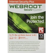 Webroot Internet Security Plus for Windows/Mac (1-3 Users) [Download]