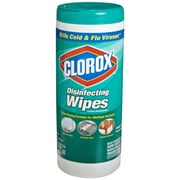 Clorox® Disinfecting Wipes, Fresh Scent, 35 Count Canister