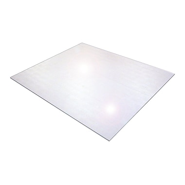 Floortex Polycarbonate 118''x48'' Polycarbonate Chair Mat for Carpet & Hard Floor, Rectangular (1230019ER)
