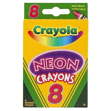 Crayola® Neon Crayons, 8/Pack