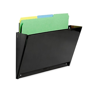 Rubbermaid® Classic Single Hot File® Magnetic File Pocket, Letter-Size