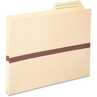 Smead® File Pocket, 2/5-Cut Printed Tab, Tyvek®-reinforced, Letter Size, Manila, 50/Box (75487)