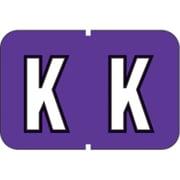 "MAP Barkley & Sycom Compatible Alpha Sheet Style Labels, ""K"""