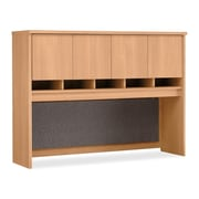 Bush Business Westfield 60W Hutch, Danish Oak