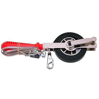 Lufkin® Atlas® Clad®/Nubian® Double Duty Oil Gauging Tape, 25 Feet (L) x 1/2-inch (W) Blade
