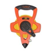 Lufkin® C1 Yellow Clad Fiberglass Single Side Measuring Tape, 150 ft (L) x 1/2 in (W) Blade