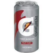 Gatorade® Liquid Concentrate Ready-To-Drink Energy Drink, 11.6 oz Can, Fruit Punch