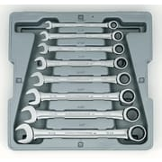 "GearWrench® 8 Pieces 12 Point SAE Combination Ratcheting Wrench Set, 5/16"" - 3/4"""