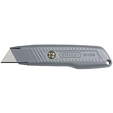 Stanley® Interlock® 299® Fixed Blade Utility knife, Steel, 5-1/2