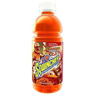 Sqwincher® 20 oz Yield Liquid Concentrate Ready-To-Drink Energy Drink, 20 oz Bottle, Orange