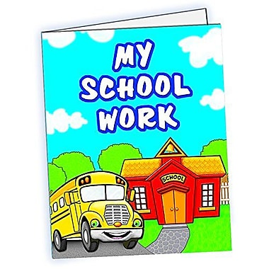 Teacher Created Resources® My School Work Pocket Folder