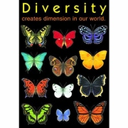 Trend Enterprises® ARGUS® Poster, Diversity Creates