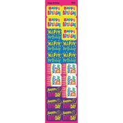 Trend Enterprises® Applause Stickers, Happy Birthday