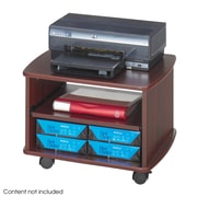 Safco® Picco™ Duo Printer Stand, Mahogany