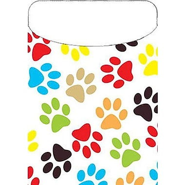 Top Notch Teacher Products® Paw Print Brite Pocket