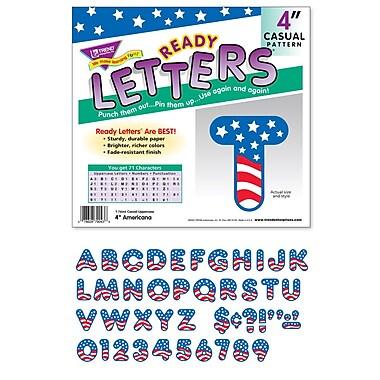 Trend Enterprises® Casual Ready Letter, 4