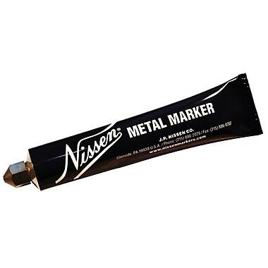 Nissen® 5/64 in Ball SS Tip Regular Paint Metal Marker, White