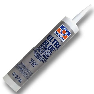 Permatex Ultra Blue RTV Silicone Gasket Maker 13 oz., 12/Case