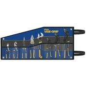 VISE-GRIP® 8 pcs Groove Lock Pliers Set, Kitbag Included