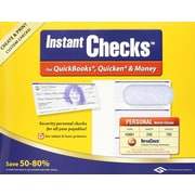 Instant Checks™ – For QuickBooks®, Quicken® & Money  Form #3001, Personal Wallet , Blue [Boxed CD]