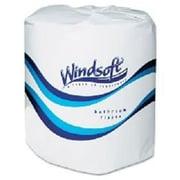 Windsoft Facial Quality Bath Tissue, 2-Ply, 96 Rolls/Case