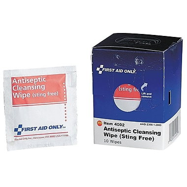 First Aid Only™ Antiseptic Cleansing Wipes, SmartCompliance™ Refill