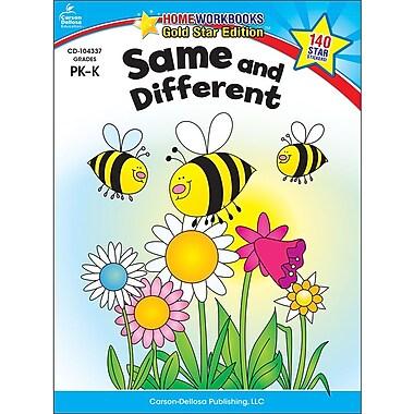 Carson-Dellosa Same and Different Resource Book