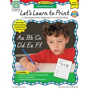 Carson-Dellosa Publishing 804005 Let's Learn to Print: Modern Manuscript Resource Book