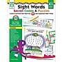 Key Education Sight Words Secret Codes & Puzzles