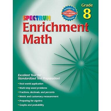 Spectrum Enrichment Math Workbook, Grade 8