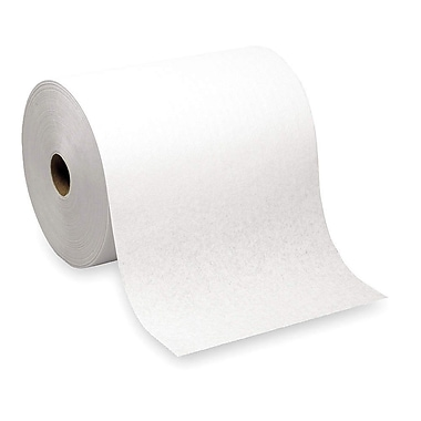 enMotion® High Capacity 100% Recycled Hardwound Paper Towel Rolls, White, 1-Ply, 6 Rolls/Case