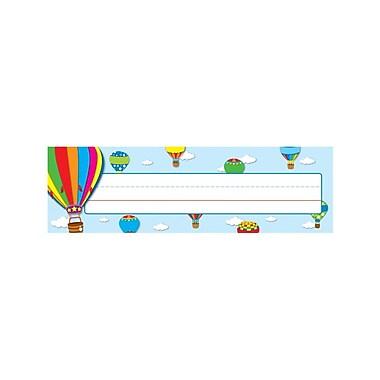 Carson-Dellosa Hot Air Balloons Nameplates