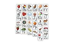 Carson-Dellosa Alphabet: Photographic Shape Stickers