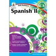 Carson-Dellosa Spanish II Resource Book, Grades 6 - 8
