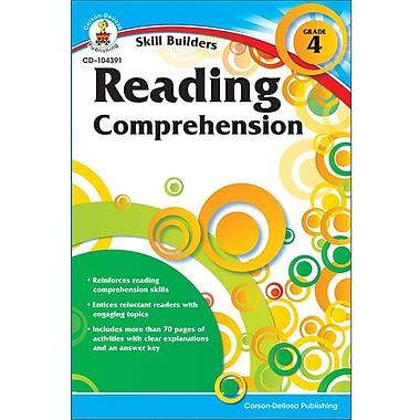 Carson-Dellosa Reading Comprehension Resource Book, Grade 4