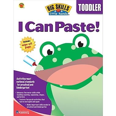 Brighter Child I Can Paste Workbook