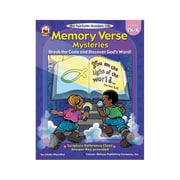 Carson-Dellosa Memory Verse Mysteries Resource Book, Grades 1 - 3