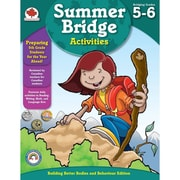 Summer Bridge Activities™ Workbook, Grades 5 - 6, 176 Pages