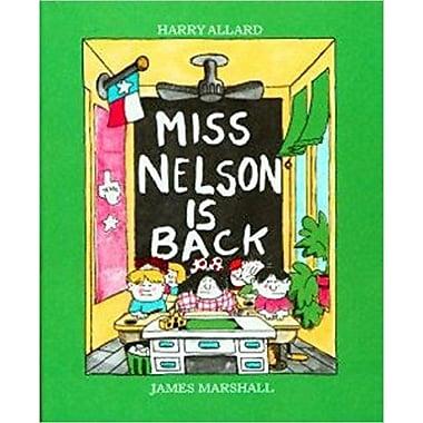 American Heritage Miss Nelson is Back Book By Harry Allard, Grades Kindergarten - 3rd