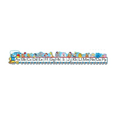 Carson-Dellosa Alphabet Train Bulletin Board Set