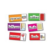 Four Blocks Print-Rich Classroom Labels Bulletin Board Set