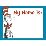 Eureka® Infant - 3rd Grades Name Tag, Cat In The Hat