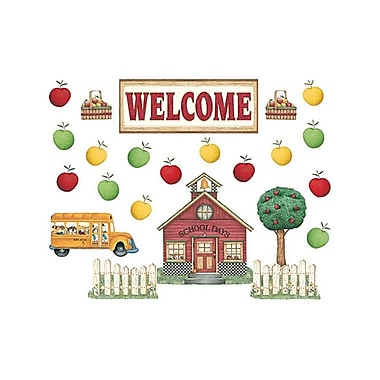 Teacher Created Resources® Bulletin Board Set, Debbie Mumm School House Welcome